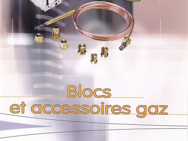 Blocs et accessoires gaz