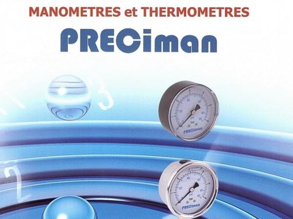 Manometres et thermometres